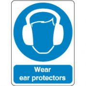 Mandatory Safety Sign - Wear Ears Protectors 174